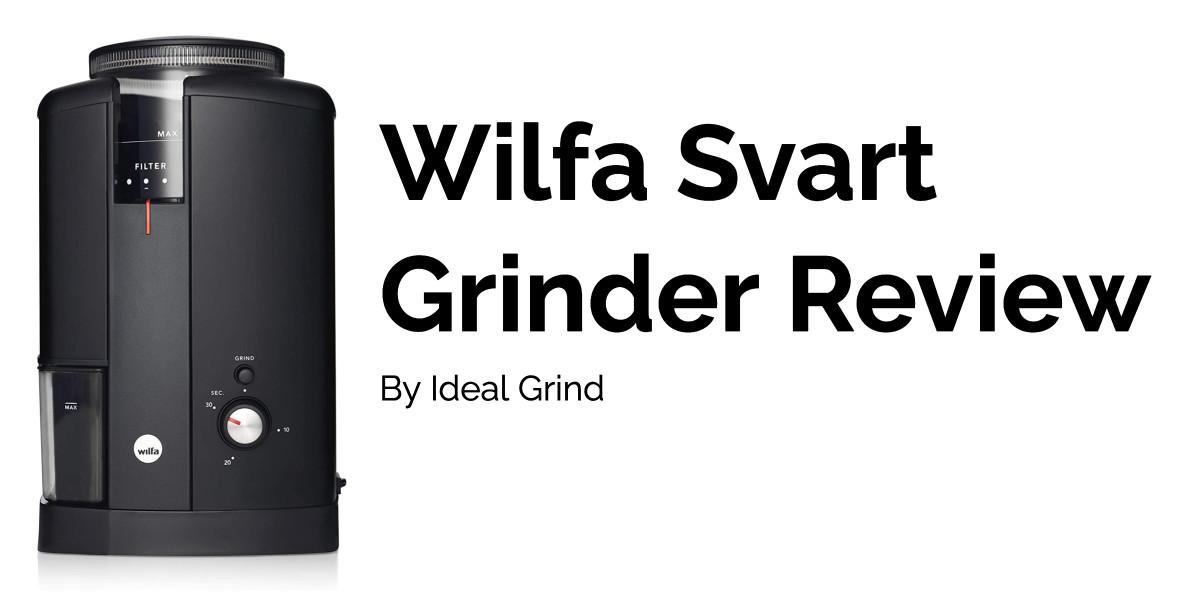 Wilfa Svart Grinder header