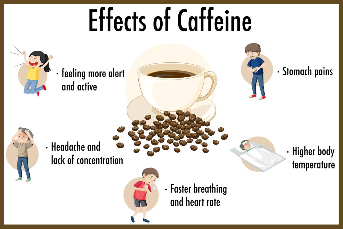 impact of caffeine infographic